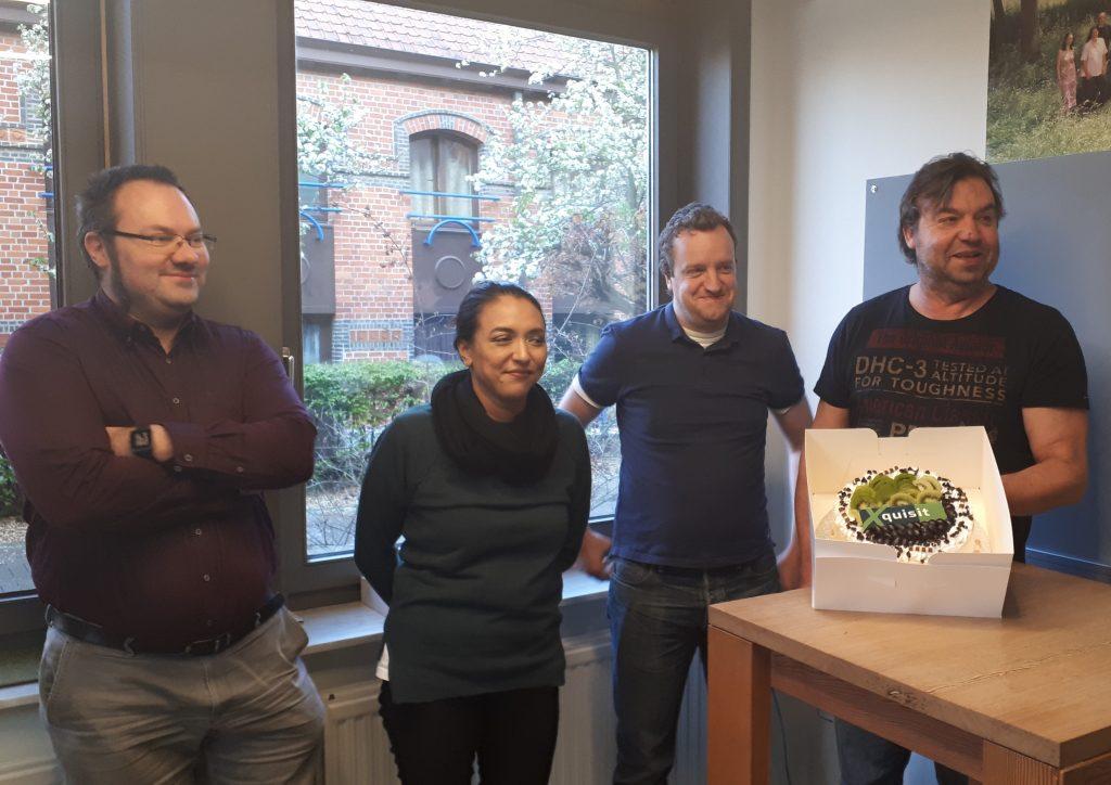 Marga en haar team krijgen smakelijk bezoek!