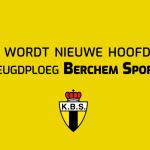 Xquisit wordt nieuwe sponsor voor de jeugdploeg van Berchem Sport voor het nieuwe seizoen