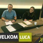 Welkom Luca!